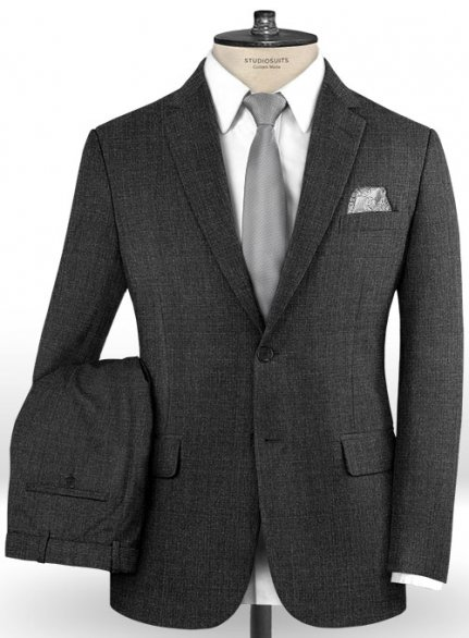 Reda Nano Gray Wool Suit