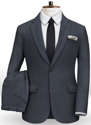 Napolean Highball Blue Wool Suit