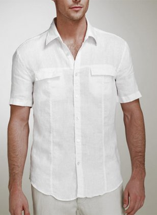 Flap Couture Shirt - Half Sleeves
