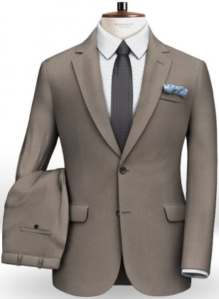 Italian Cotton Damask Suit