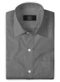 Giza M Black Cotton Shirt