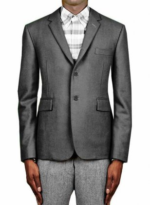 Rolling 3 Button Jacket