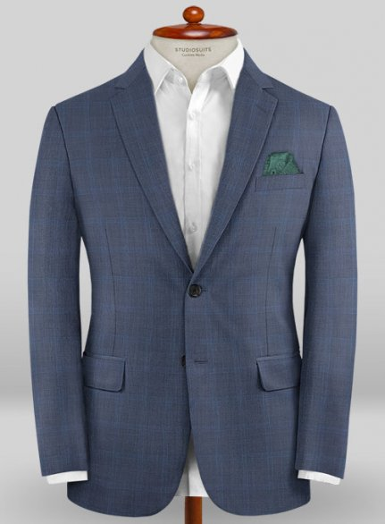 Caccioppoli Sun Dream Ronzi Blue Jacket