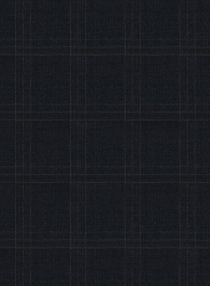 Zegna Anesco Blue Checks Wool Suit
