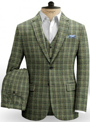 Norfolk Green Tweed Suit