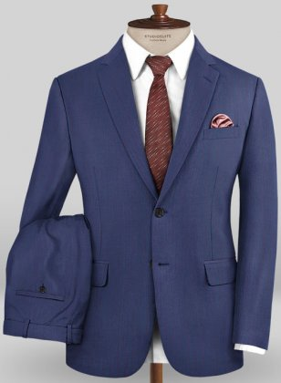 Caccioppoli Sun Dream Oro Ink Blue Suit