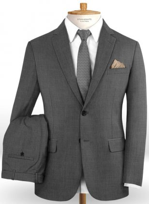 Napolean Gino Gray Wool Suit