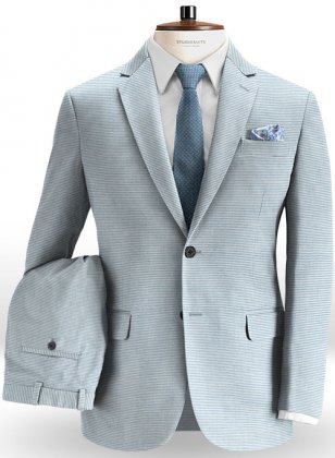 Italian Cotton Lacca Suit