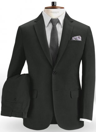 Super Dk Gray Chino Suit