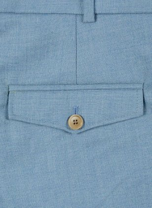Light Weight Arctic Blue Tweed Pants