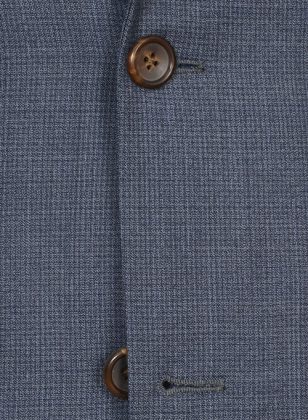Napolean Barista Blue Wool Suit