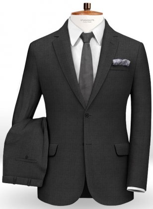Prince Wool Charcoal Suit