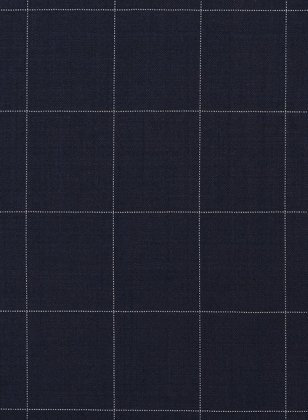 Napolean Criss Blue Wool Suit