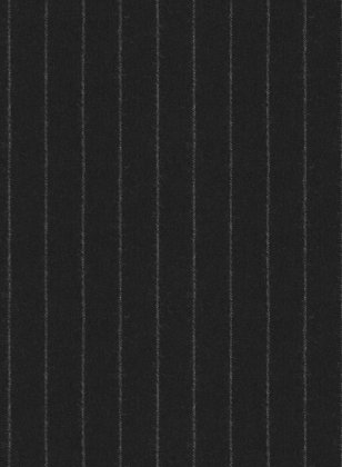 Reda Flannel Stripe Black Pure Wool Suit