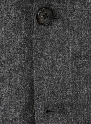 Reda Flannel Dark Gray Pure Wool Suit