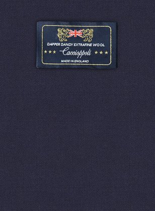 Caccioppoli Dapper Dandy Capala Blue Suit