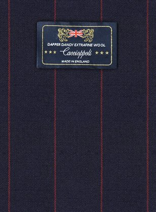 Caccioppoli Dapper Dandy Yanti Dark Blue Suit