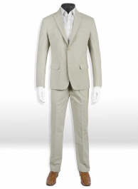 Tropical English Beige Linen Suit