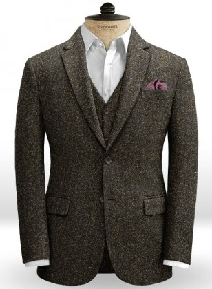 Yorkshire Brown Tweed Jacket
