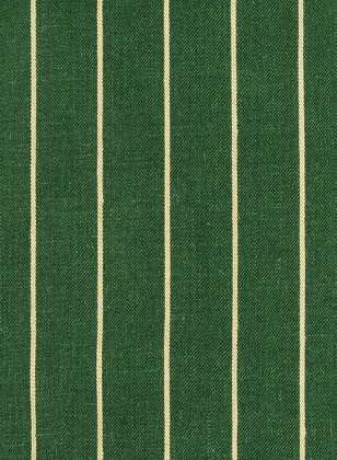 Italian Green Stripe Linen Suit
