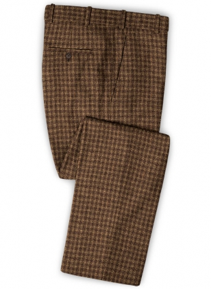 Maze Brown Tweed Pants