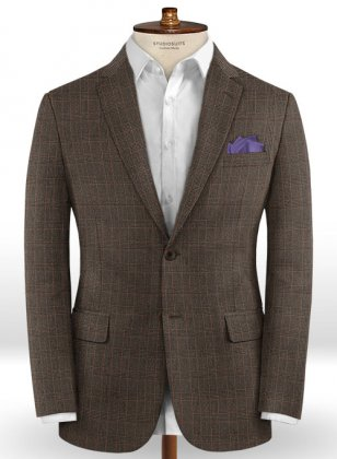 Caccioppoli Dapper Dandy Ingel Brown Jacket