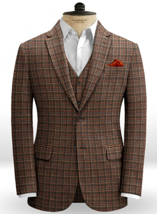 Millport Checks Tweed Jacket