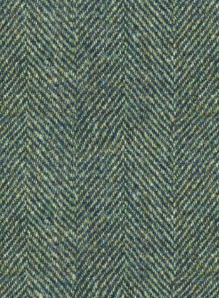 Harris Tweed Wide Herringbone Green Suit
