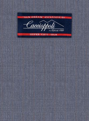 Caccioppoli Sun Dream Polico Blue Suit