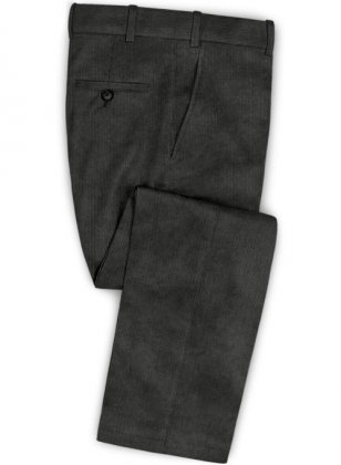 Dark Gray Corduroy Pants