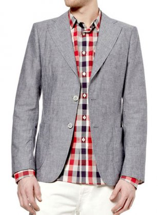 Light Weight Roman Linen Sports Jacket