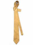 Golden Leather Tie