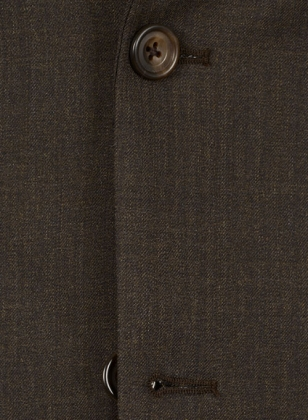 Venity Brown Pure Wool Suit