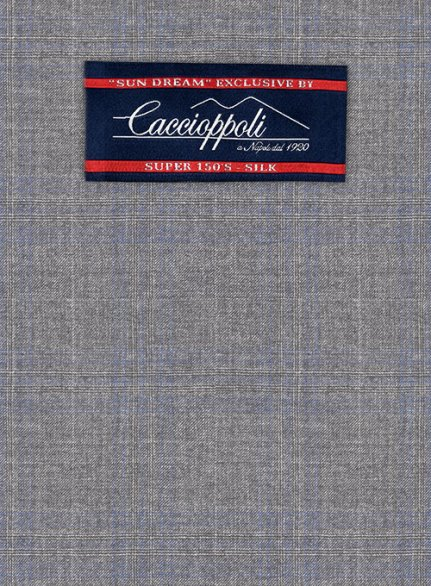 Caccioppoli Sun Dream Cecini Gray Jacket