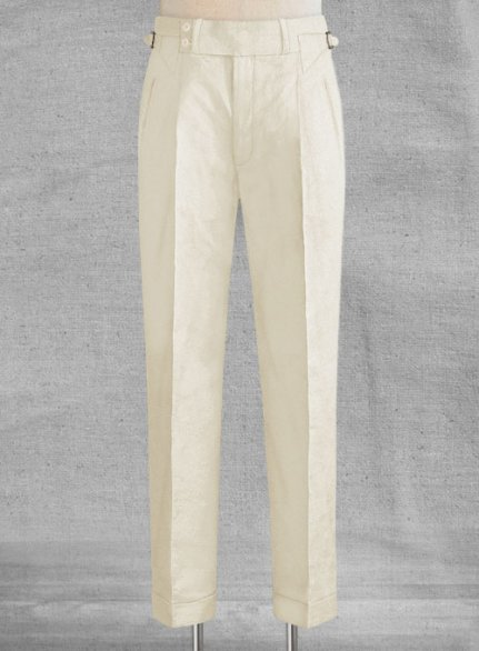 Safari Natural Cotton Linen Heritage Trousers