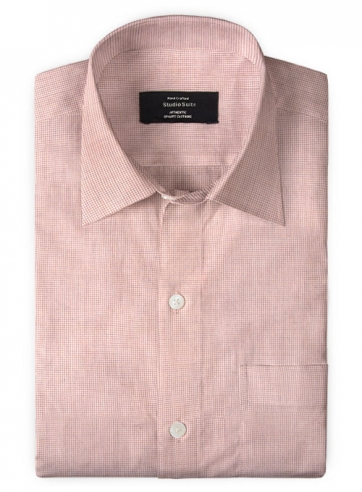 Giza Bawn Pink Cotton Shirt