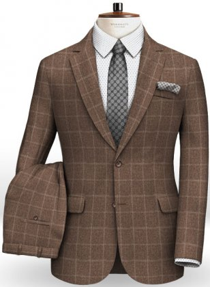 Cashmere Flannel Rich Wool Suit