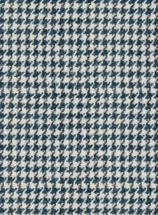 Harris Tweed Houndstooth Indi Blue Suit