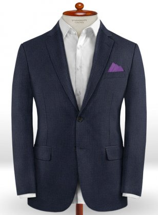 Caccioppoli Dapper Dandy Inato Glen Blue Jacket