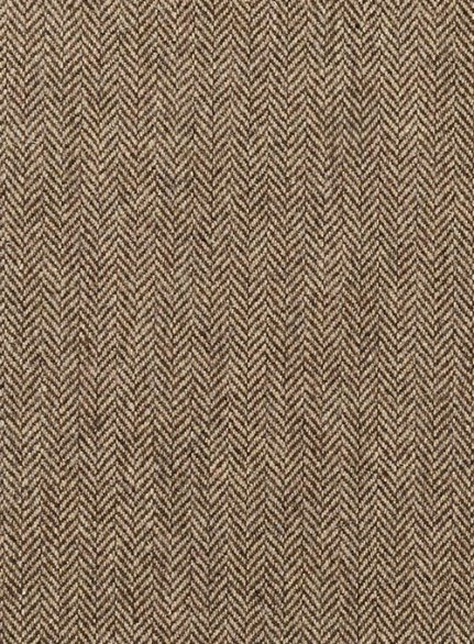 Irish Brown Herringbone Tweed Pants