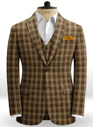 Midlands Brown Tweed Jacket