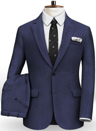 Cashmere Flannel Diza Wool Suit