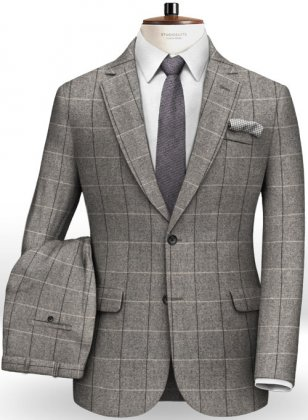 Italian Wool Cotton Ropo Suit
