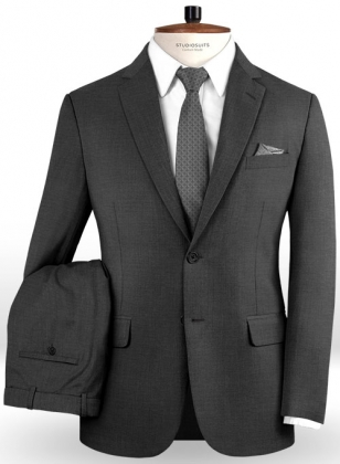 Napolean Metro Gray Wool Suit
