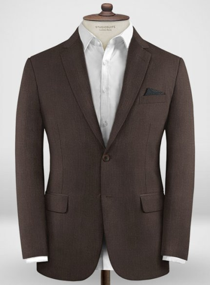 Zegna Traveller Brown Wool Jacket