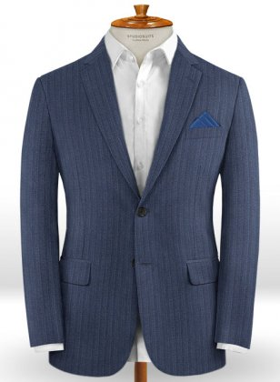 Caccioppoli Dapper Dandy Rienza Blue Jacket