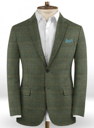 Caccioppoli Dapper Dandy Madici Green Jacket