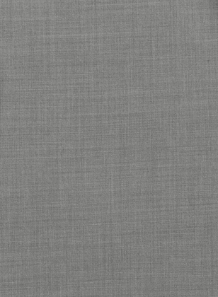 Napolean Worsted Light Gray Wool Suit