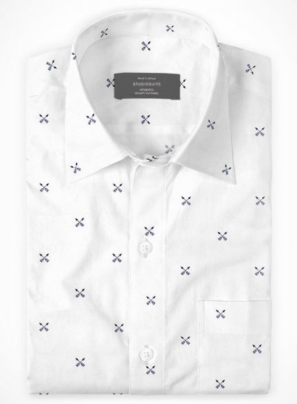Cotton Stretch Arrow Shirt