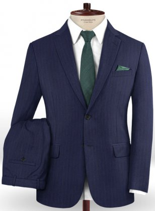 Caccioppoli Dapper Dandy Midico Royal Blue Suit